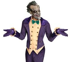 halloween costumes city the joker arkham city halloween costume men u0027s the joker costume