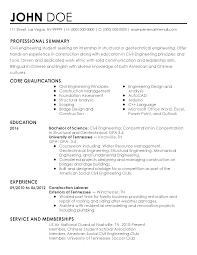 Sample Chemical Engineering Resume Internship Engineering Resume Free Resume Example And Writing