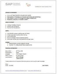 sap crm technical consultant resume abap consultant sample resume sap resumes twentyhueandico sap cv