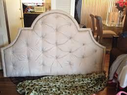 diy upholstered portman shaped headboard 3 4 inch mdf a pattern