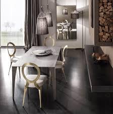 sale da pranzo eleganti tavolo moderno con gambe in metallo malaga di cantori arredaclick