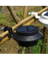 Gutter Solar Lights Deals On Solar Fence Lights Are Going Fast