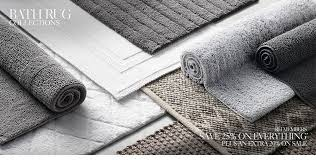 Jute Bathroom Rug Bath Rugs Rh