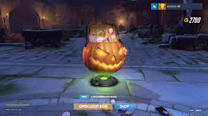 you can buy the new halloween skins with credits overwatch