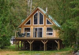 falcon custom cabins garages post and beam homes cedar house