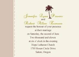 palm tree wedding invitations the palm tree wedding invitations iwi180 wedding