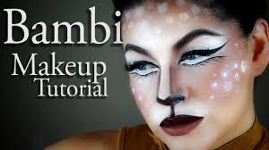Makeup Tutorial Halloween by Bambi Makeup Tutorial Halloween 2016 Miss Carrie Makeup Youtube