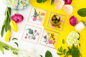 pressed flowers these pretty pressed flower coasters are now a kit brit co