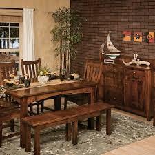 Heidi Leg Extension Table Amish Dining Tables  Amish Tables - Amish dining room table