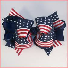 fourth of july hair bows boutique fourth of july or patriotic hair bow is for your