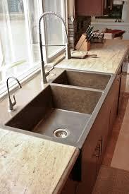 kitchen faucets for farmhouse sinks appliances custom kitchen portfolio by concrete wave design