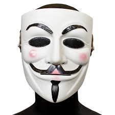 Guy Fawkes Mask Halloween by Lancer Tactical Guy Fawkes Full Face Airsoft Mesh Mask