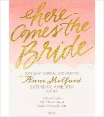 bridal invitation templates wedding invitation template 71 free printable word pdf psd