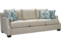 broyhill patio furniture broyhill furniture chambers 4212 300 casual sofa with scooped