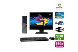 ordinateur de bureau windows 7 occasion pc de bureau dell darty