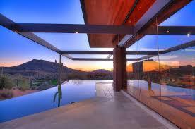striking exquisite arizona desert mountain retreat with comforting