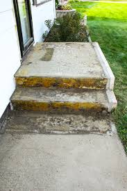 an affordable porch makeover removing carpet cement and porch
