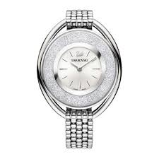 swarovski white bracelet images Authentic swarovski crystalline oval white bracelet watch 5181008 jpg