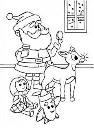 20 free printable rudolph red nosed reindeer coloring