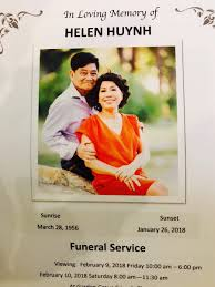 david ono abc7com david ono on twitter goodbye helen huynh she lost her battle with