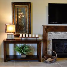 wall tables for living room living room console fireplace living