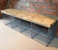 storage bench with shoe rack foter