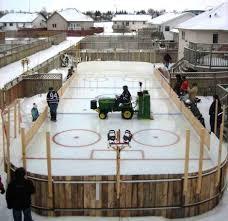 backyard rink ideas hockey rink boards rink board packages