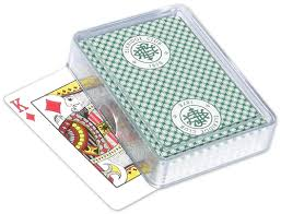 plastic card boxes single and deck acrylic card boxes