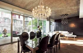 modern contemporary contemporary crystal dining room chandeliers caruba info