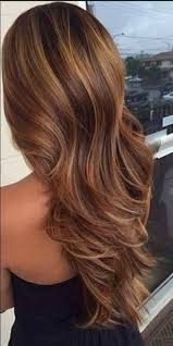 awesome brown hair with caramel highlights hair pinterest