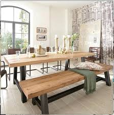 Bench Style Dining Tables Bench Style Dining Tables Dining 6 Dining Room Chairs Bench Style