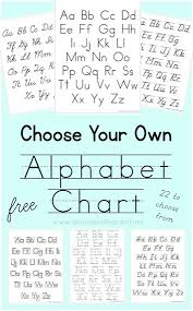 choose your own alphabet chart printable 1 1 1 u003d1