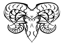 aries tribal by sybil on deviantart