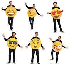 emoji costume emoji costume one size ebay