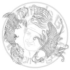 yin yang koi tattoo by kv arts on deviantart