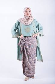 model baju 50 trend model baju batik muslim terbaru 2017 hijabtuts