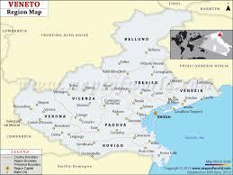 provinces of italy map veneto map map of veneto region