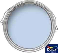 dulux blissful blue silk emulsion paint 2 5l homebase room