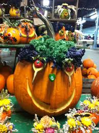 pick your pumpkin decorative halloween painted pumpkins