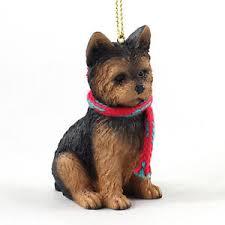 terrier puppy cut ornament figurine w