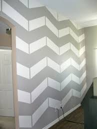 skinny meg chevron wall tutorial