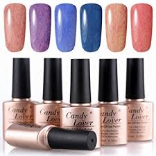 buy candy lover nail polish 12pcs starter kit 10 color polish uv