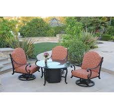 Swivel Rocking Chairs For Patio Athena Swivel Rocker Patio Club Chair