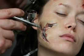 terminator prosthetic makeup images