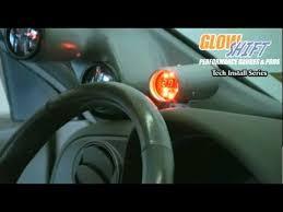 msd programmable digital shift light glowshift digital tachometer with programmable shift light youtube