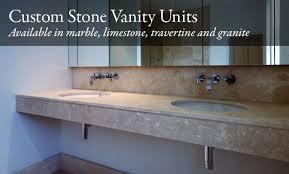 Stone Basin Vanity Unit Custom Stone Vanity Units