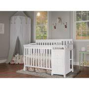 Mini Convertible Crib On Me 4 In 1 Mini Convertible Crib And Changer White