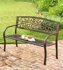 Tuscany Outdoor Furniture by Iron Tuscany Bench Outdoor Furniture Wind U0026 Weather