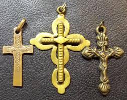 catholic pendants italy c1900 s lot x3 crosses crucifix jesus lovely