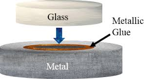glue for glass to metal table glass to metal bonds mesoglue